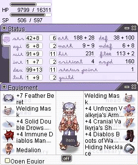 [Tirak] Whitesmith FS [ACCEPTED] Build_Tingle